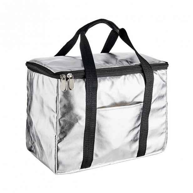 Butlers KEEP COOL Chladící taška - stříbrná