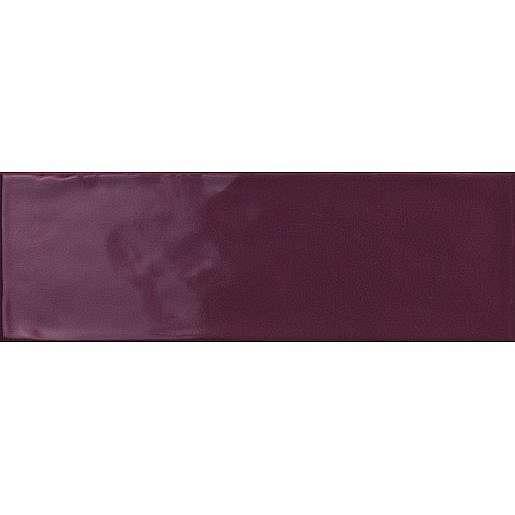 Obklad Ragno Brick glossy purple 10x30 cm lesk BGR4JF
