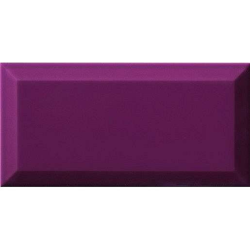 Obklad Ribesalbes Chic Colors malva bisel 10x20 cm lesk CHICC1451