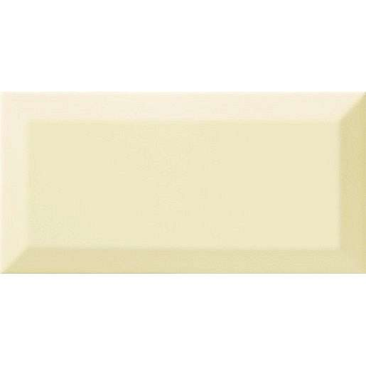 Obklad Ribesalbes Chic Colors beige bisel 10x20 cm lesk CHICC1800
