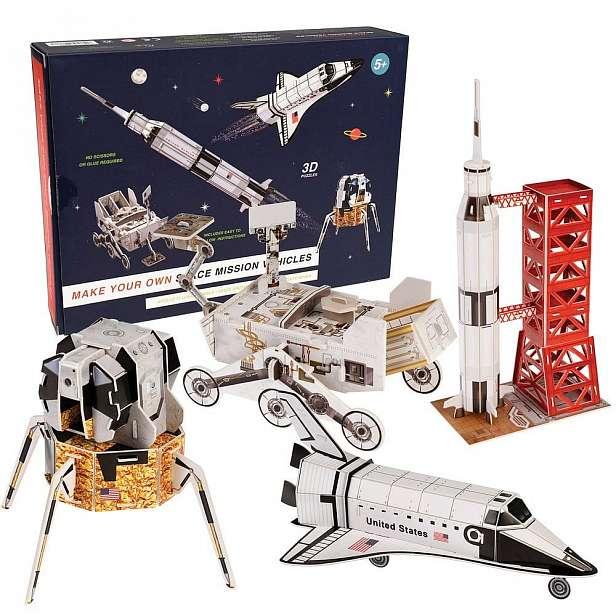 Dětská vesmírná stavebnice Rex London Space Mission Vehicles