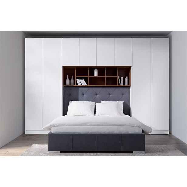 Luxusní ložnicová sestava Varese s posteli 180x200cm HELCEL