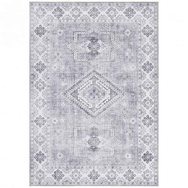 Světle šedý koberec Nouristan Gratia, 200 x 290 cm