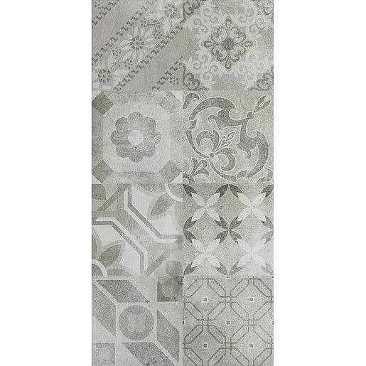Dekor Dom Entropia silver 30x60 cm mat DUT34MD