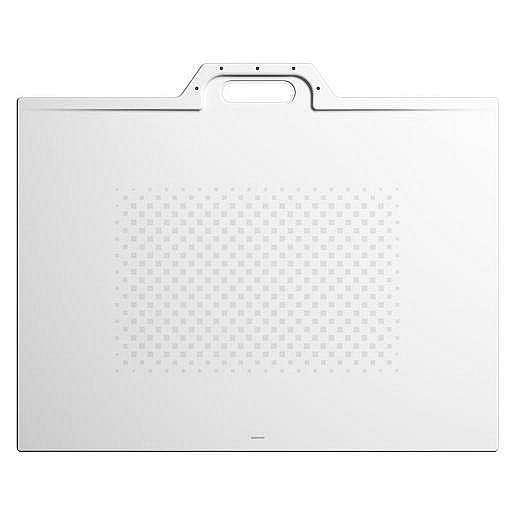 Sprchová vanička obdélníková Kaldewei Xetis 887 80x120 cm smaltovaná ocel alpská bílá 488730003001