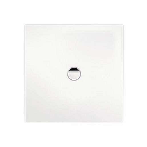 Sprchová vanička čtvercová Kaldewei Scona 916 100x100 cm smaltovaná ocel alpská bílá 491600010001