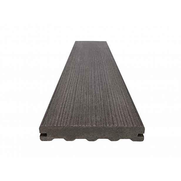 Prkno terasové dřevoplastové WOODPLASTIC FOREST PREMIUM wenge