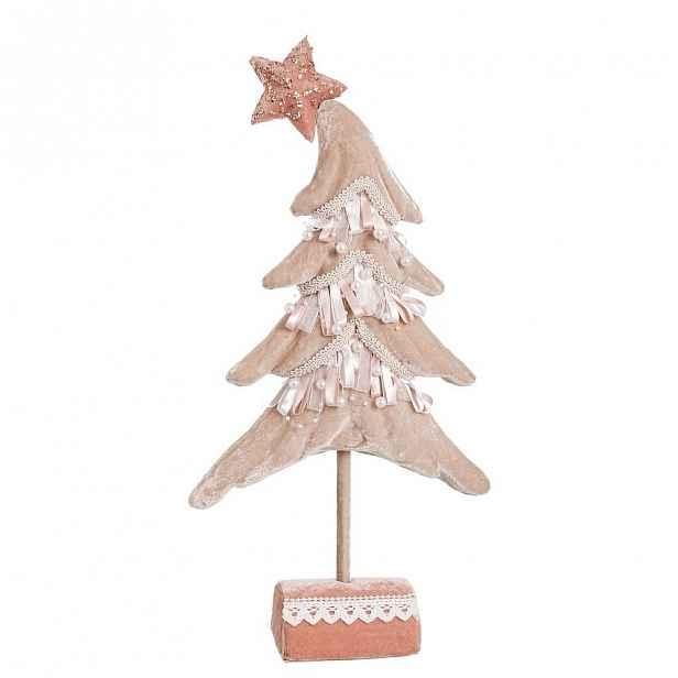 Stojací vánoční dekorace Unimasa Tree, výška44cm