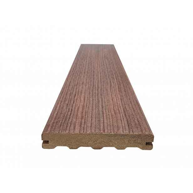 Prkno terasové dřevoplastové WOODPLASTIC FOREST PLUS PREMIUM palisander