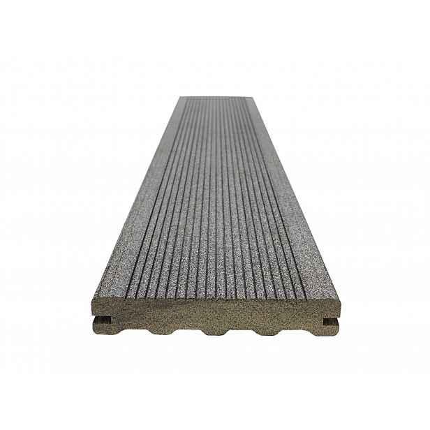 Prkno terasové dřevoplastové WOODPLASTIC STAR PREMIUM eben