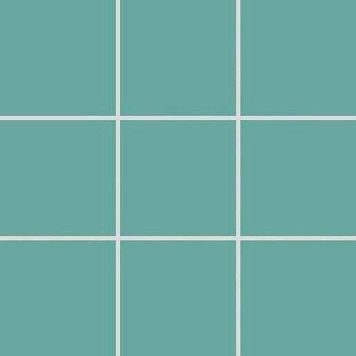 Mozaika Rako Color Two tyrkysová 10x10 cm mat GAA0K467.1