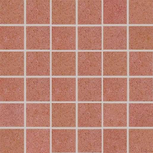 Mozaika Rako Rock červená 30x30 cm mat DDM06645.1