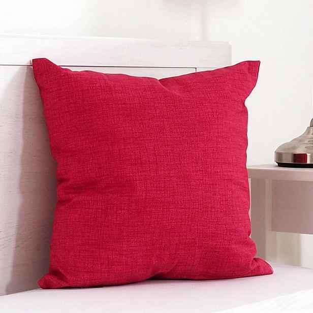 Dekorační polštářek BESSY 45 x 45 cm červená 1 ks