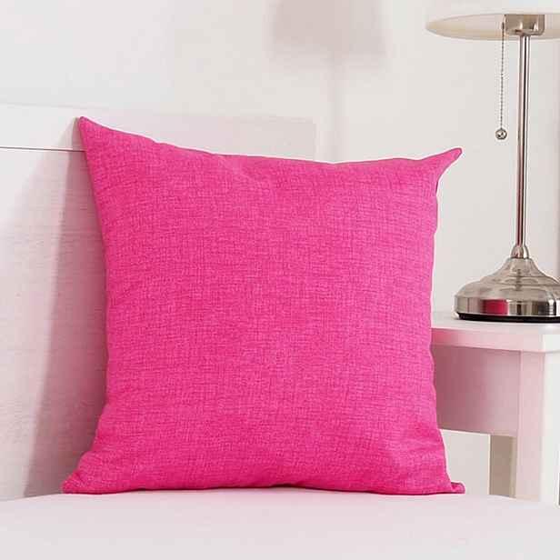 Dekorační polštářek BESSY 45 x 45 cm růžová 1 ks