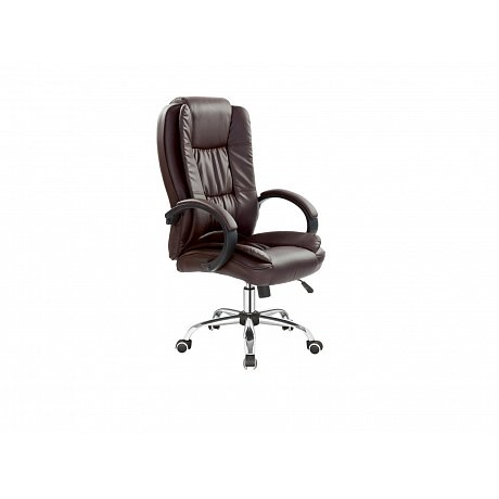 Kancelářské křeslo RELAX, tmavě hnědá - 64 x 75 x 110-118 cm