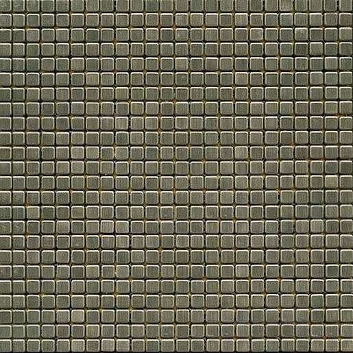 Premium Mosaic Stone Mozaika nerezová 1x1 cm MOS10NRZ