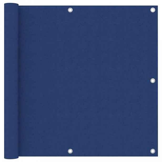 Balkónová zástěna 90 x 300 cm oxfordská látka Modrá