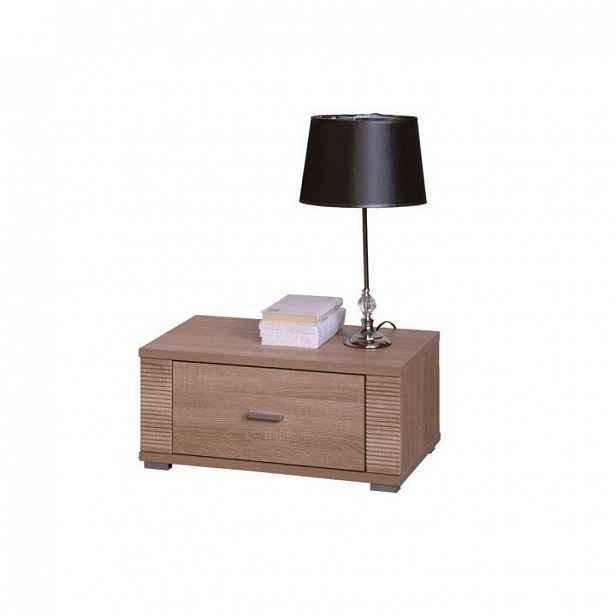 Noční stolek typ 21, dub sonoma, GRAND 0000063017 Tempo Kondela
