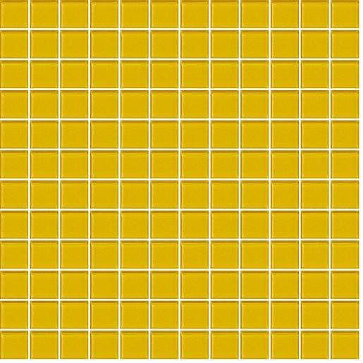 Skleněná mozaika žlutá 30x30 cm lesk MOS25YE