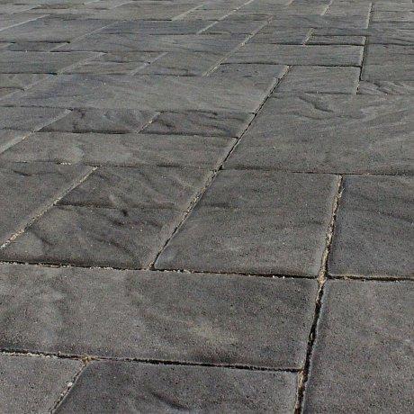 Dlažba betonová DITON PROVANCE barva bazalt výška 60 mm