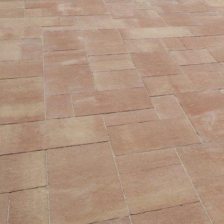 Dlažba betonová DITON CARCASSONNE barva bronze výška 60 mm