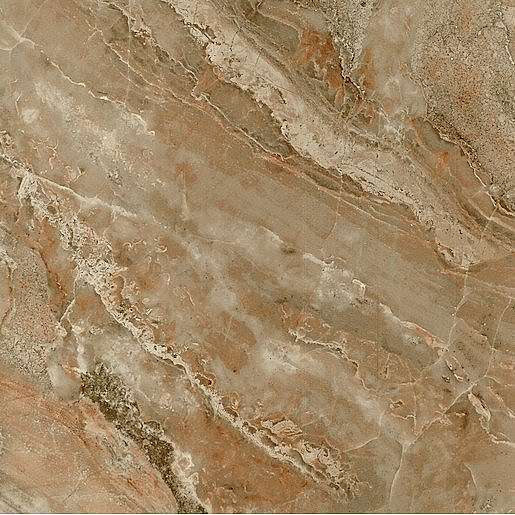 Dlažba Stylnul Piedra marron 45x45 cm lesk PIEDRAMR