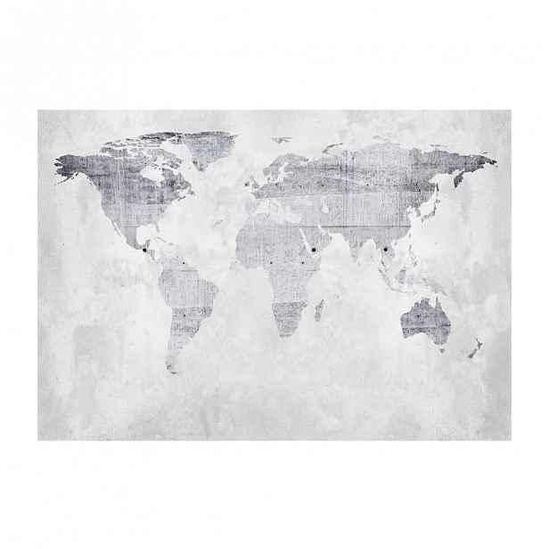 Velkoformátová tapeta Artgeist Concrete Map,200x140cm