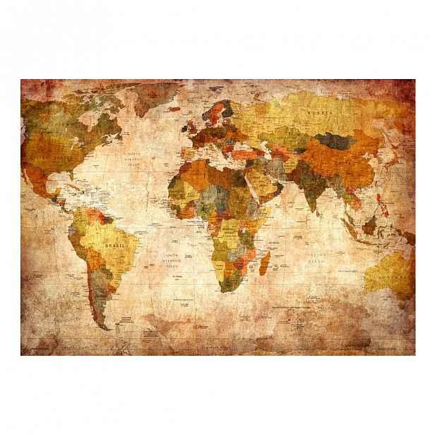 Velkoformátová tapeta Artgeist Old World Map,200x140cm