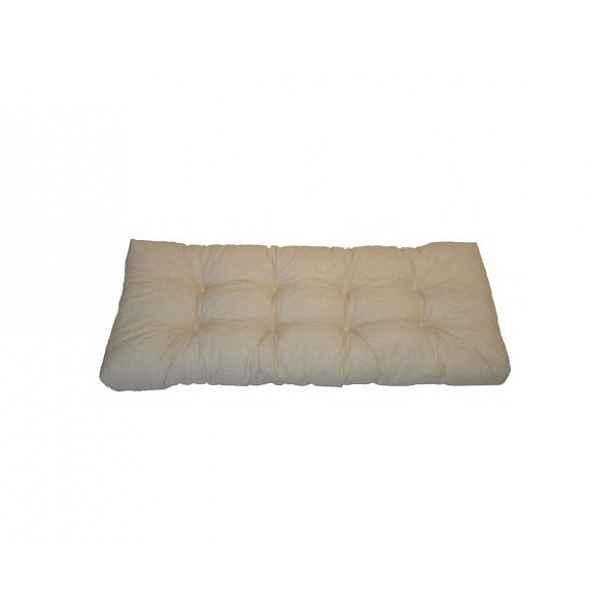 Opěradlový polstr na paletu 120x40 cm - světle béžový melír