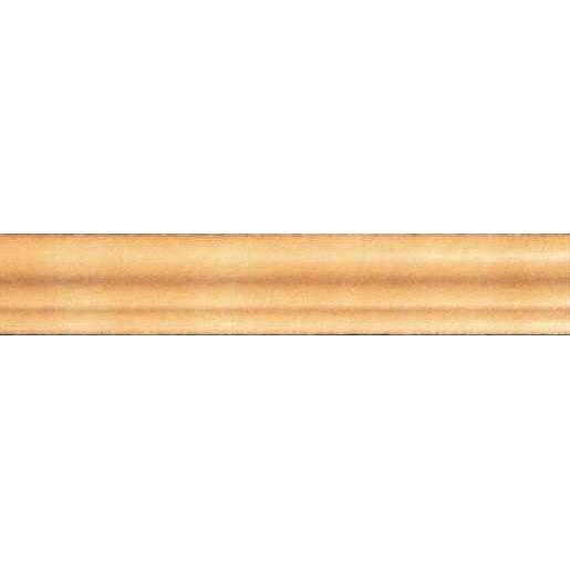 Schodová Tvarovka Exagres Torelo okrová 5x36 cm mat SCHODT255