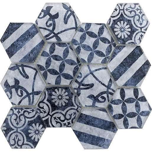 Skleněná mozaika azul 26x30 cm mat PATCHWORK73AZ
