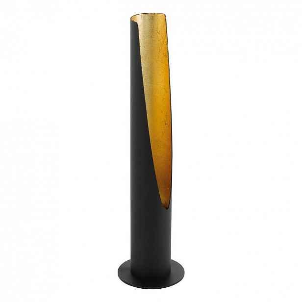 Stolní svítidlo BARBOTTO GU10 černá/zlatá