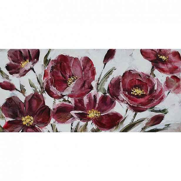 Monee Olejomalba, Květiny, 120/55 Cm, - Olejomalby - 0080190027