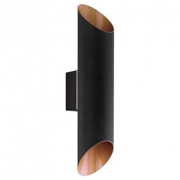 Svítidlo LED Eglo Agolada, 3000K, 3,7W, černá, měděná