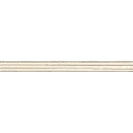 Listela Rako Textile slonová kost 3x40 cm mat WLAMG001.1