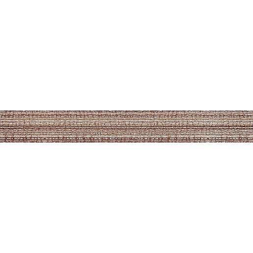 Listela Rako Textile fialová 4x40 cm mat WLAMH020.1