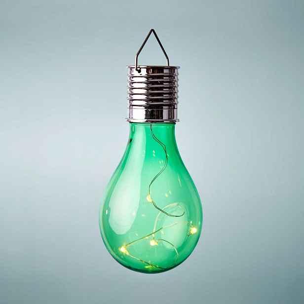 Butlers SUNLIGHT Solární žárovka k zavěšení - zelená