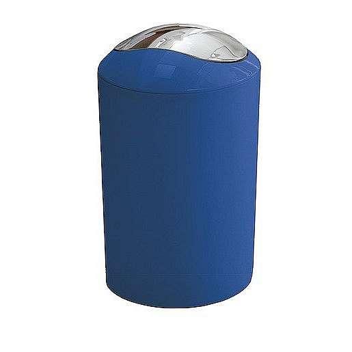 Odpadkový koš volně stojící Kleine Wolke Glossy 5 l modrá 5063799858