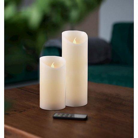 Sada 2 světelných svíček s dálkovým ovladačem DecoKing Subtle Nova