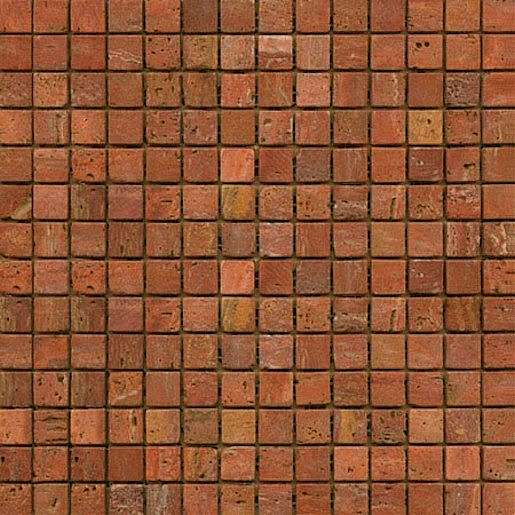 Kamenná mozaika červená 30x30 cm mat STMOS20REW