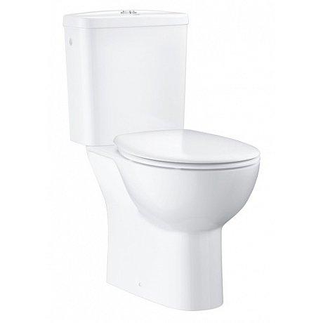Wc kombi komplet Grohe Bau Ceramic alpská bílá zadní odpad 39495000