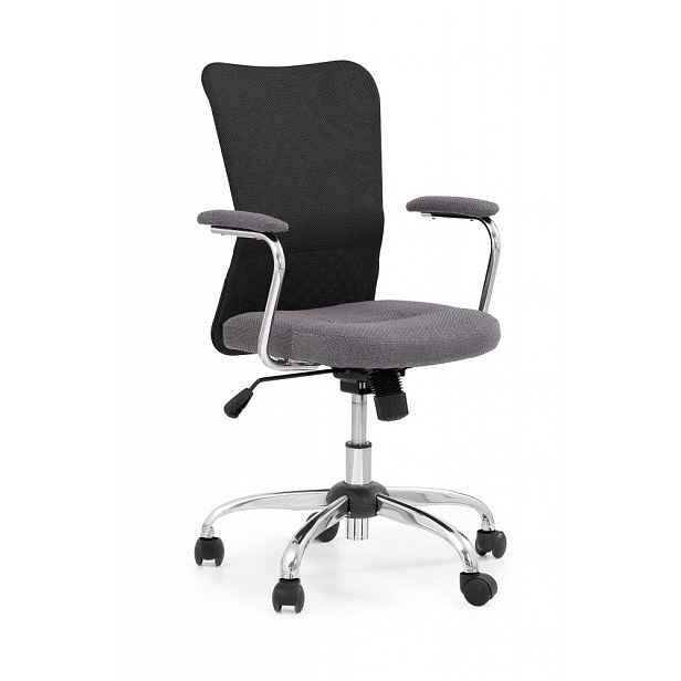 Dětská židle ANDY Halmar Černá