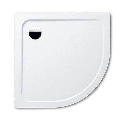 Sprchová vanička čtvrtkruhová Kaldewei Arrondo 870-1 90x90 cm smaltovaná ocel alpská bílá 460030003001