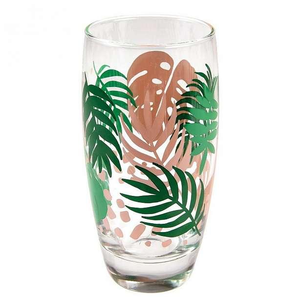 Sklenička Rex London Palm Leaf, 350ml