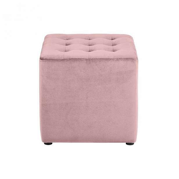 Růžová taburetka Actona Bryan