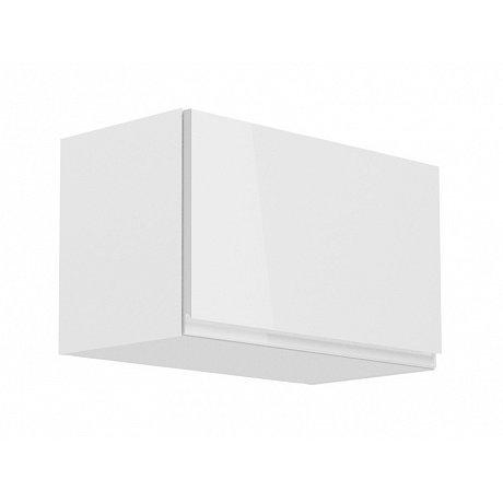 ASPEN, skříňka horní nízká G60KN, bílá/bílý lesk