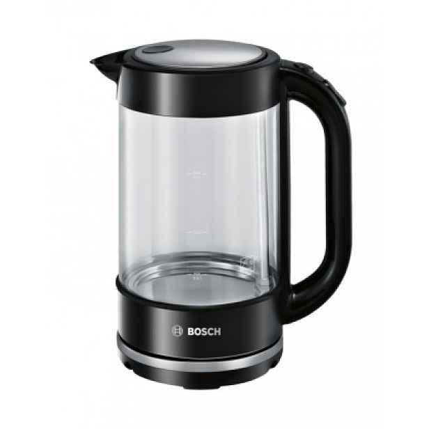 Rychlovarná konvice Bosch TWK70B03, sklo, 1,7l