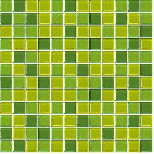 Skleněná mozaika zelená 30x30 cm lesk MOS25MIX4