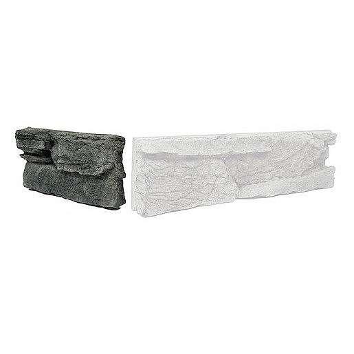 Krajovka Vaspo Skála zvrásněná antracit 10,8x23,5 cm V552041