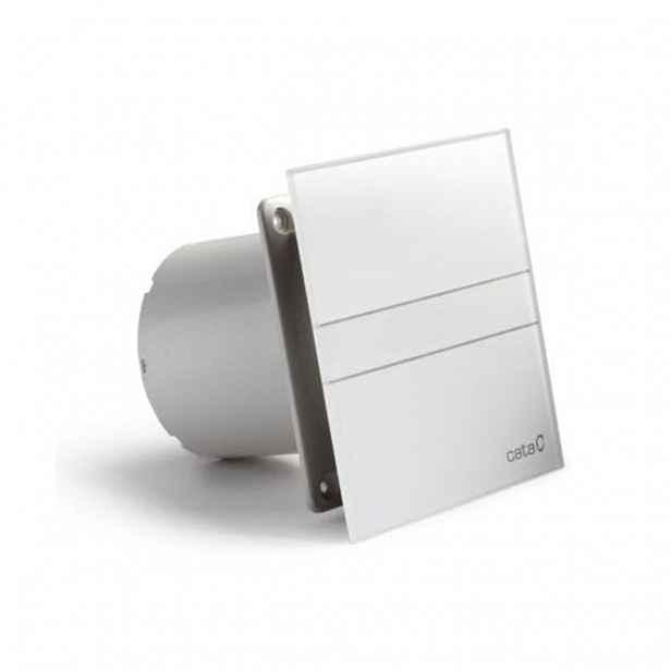 Ventilátor CATA e120 G sklo bílý